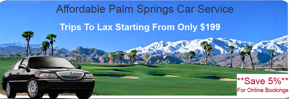 Palm Springs Car Service